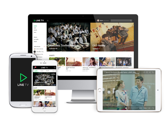 LINE TV On PC and Mobile