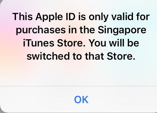 Create Singapore Apple ID and Get Connected To Singapore VPN